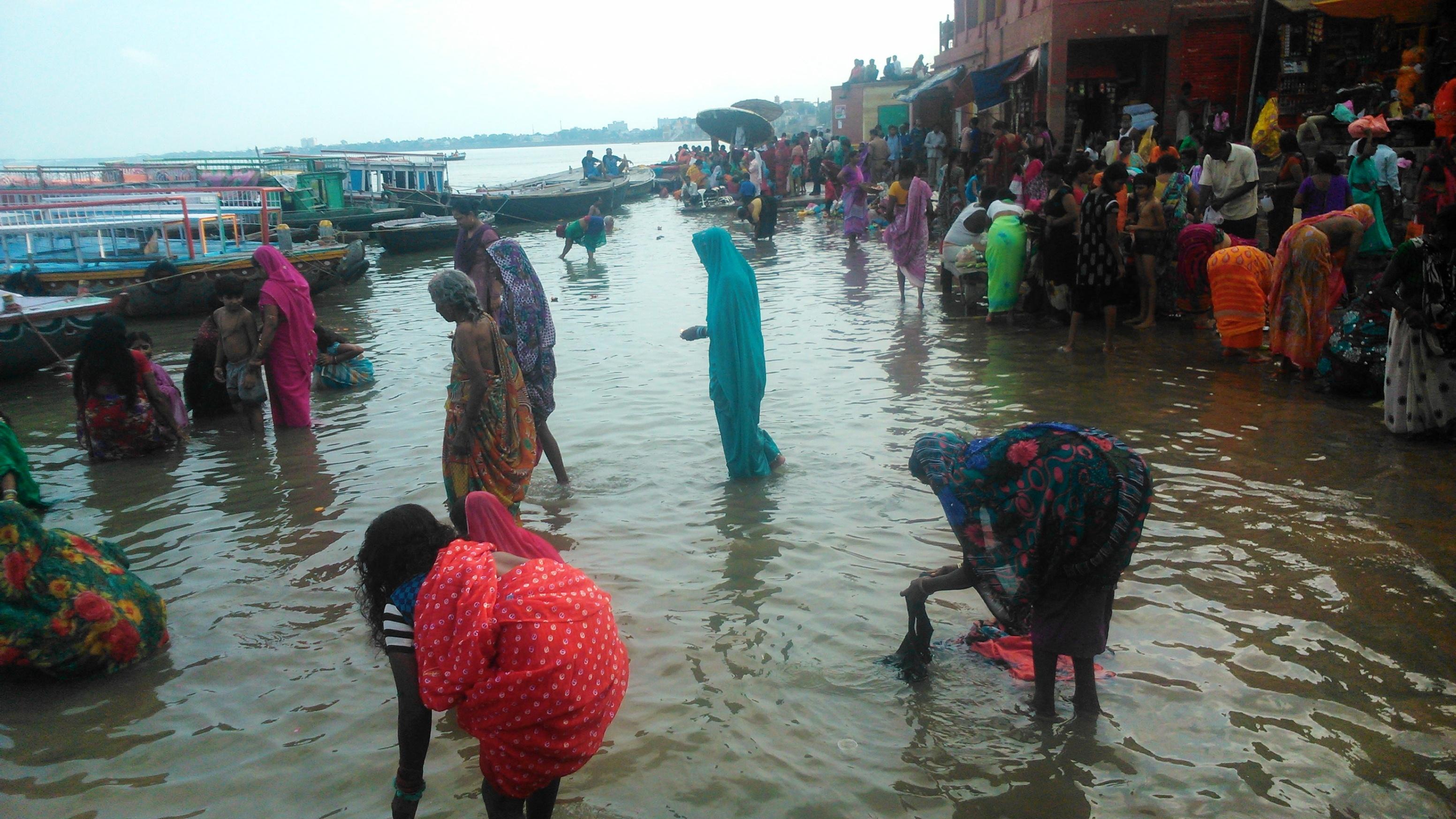 Il mio viaggio india 2014 diario di viaggio - Bagno delle donne ...