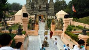 Bihar, Bodhgaya, Mahabodhi Temple, VI secolo.