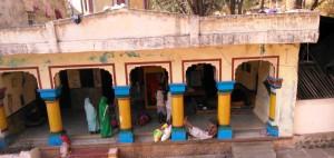 Chhattisgarh, Amarkantak ashram, 8 febbraio 2016. Il sadhu.