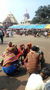 Il Jagannath Temple visto dalla Grand Road.