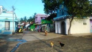 Kanyakumari, interni della cittadina.