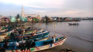 Kanyakumari. Pescatori.