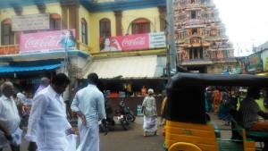 L'entrata al Sri Ranganathaswami Temple.