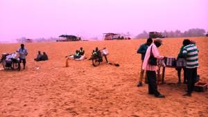 Orissa, Puri, 30 gennaio 2016. Tra Shubham Beach e Marina Beach.