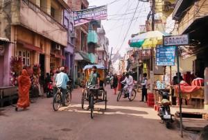 Orissa, Puri. La via del tempio.
