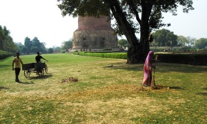 Sarnath, Dhanekh Stupa, V secolo.