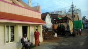 Tamil Nadu, Kanyakumari. Mattino.
