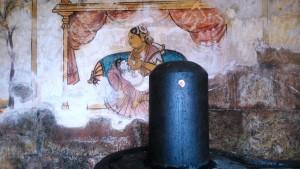 Tamil Nadu, Tanjore, Brihadishwara Temple. Affresco, sec. XI.
