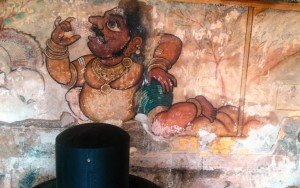 Tamil Nadu, Tanjore, Brihadishwara Temple. Affresco. Inizio XI secolo.