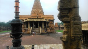 Tamil Nadu, Tanjore. Brihadishwara Temple, patrimonio UNESCO, XI secolo.