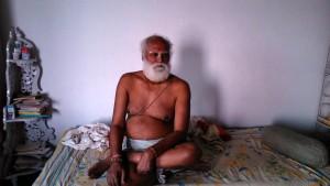 Varanasi, 1 marzo 2016. Il guru della scuola di sanscritto per soli bramini.