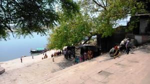 Varanasi, 25 marzo 2016. Rag Ghat.