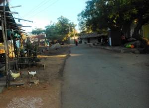 karnataka, Hampi. Villaggio di Prakash Nagara.