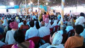 Vrindavan, 8 aprile 2016. Amma meeting1
