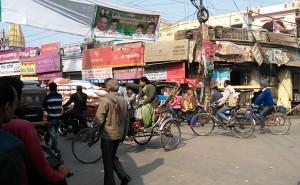 Varanasi, Chowk, 17 dicembre 2016.