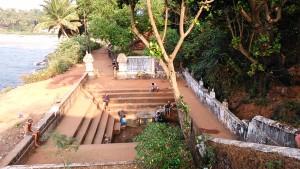 Gokarna, 16 gennaio 2017. La fontana della sorgente medicamentosa.