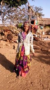 Mandu, 28 dicembre 2016. Donna di etnia Divasi.