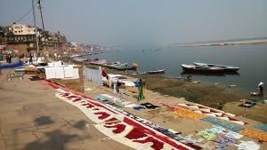 Varanasi, 18 febbraio 2017. Bucati.