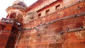 Varanasi, 2 marzo 2017. Aspetti del Rojal Palace.