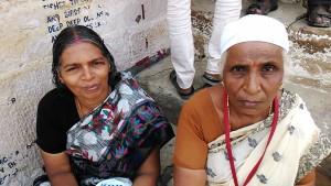 Varanasi, 20 marzo 2017. Donne del distretto di Kannijakumari in pellegrinaggio a Varanasi.