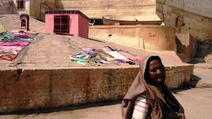 Varanasi, 28 febbraio 2017. Il luogo dove s'immolavano le vedove sulla pira del marito.