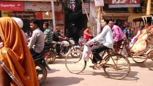 Varanasi, 2o febbraio 2017. Main Roadd