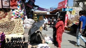 Almora, 9 aprile 2017. Il mercato.