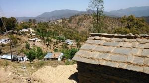 Kasar Devi, 11 aprile 2017 Case di pietra.