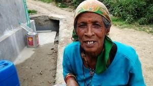 Kasar Devi, 13 aprile 2017. Un'abitante di Kasar Devi.